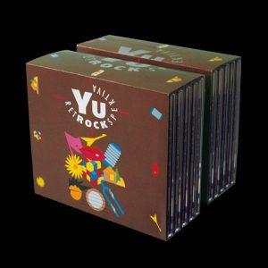 """Kutije/omoti za CD komplet """"YuRetROCKspektiva"""""""