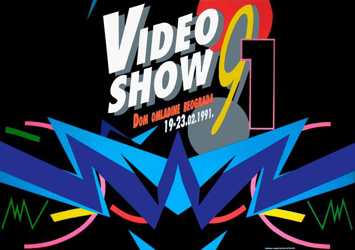 Plakat za Video Show 91