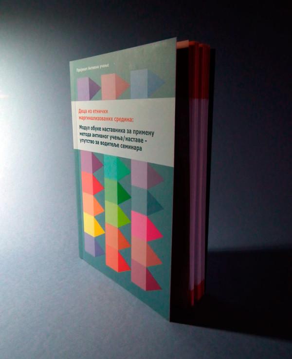 "Publikacija ""Deca iz etnički marginalizovanih sredina – Modul obuke nastavnika za primenu metoda aktivnog  učenja/nastave"""