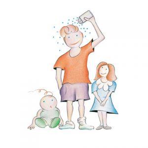"""Plakati """"Voda – ključ opstanka"""" i """"Jodirana so – za zdraviju i pametniju decu"""""""