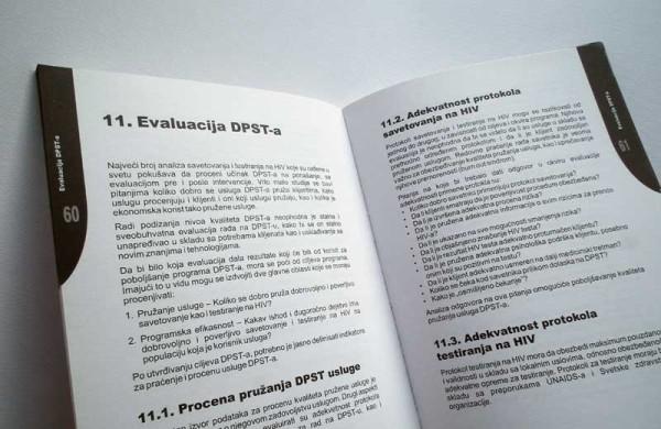"Publikacija ""Priručnik za DPST – za savetnike i trenere savetnika"" (Dobrovoljno poverljivo savetovanje i testiranje na HIV)"""